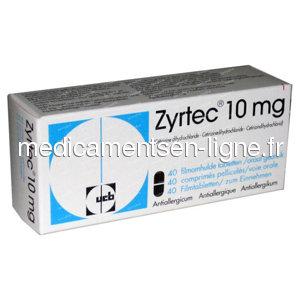 Achat de Zyrtec Sans Ordonnance